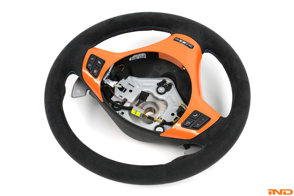 BMW OEM competition gts steering wheel dct only - iND Distribution