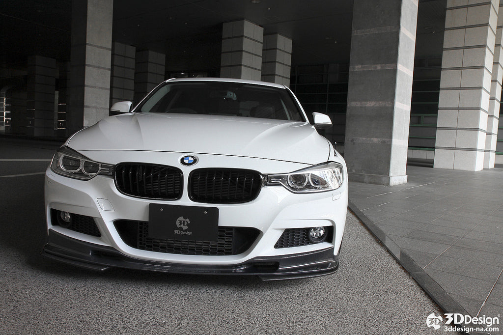 iND f30 3 series painted front grille set - iND Distribution