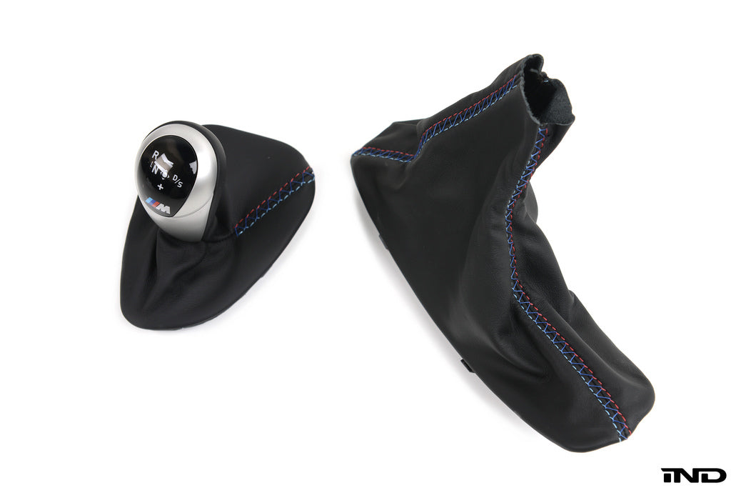 iND e9x m3 custom tri stitch shift boot set - iND Distribution
