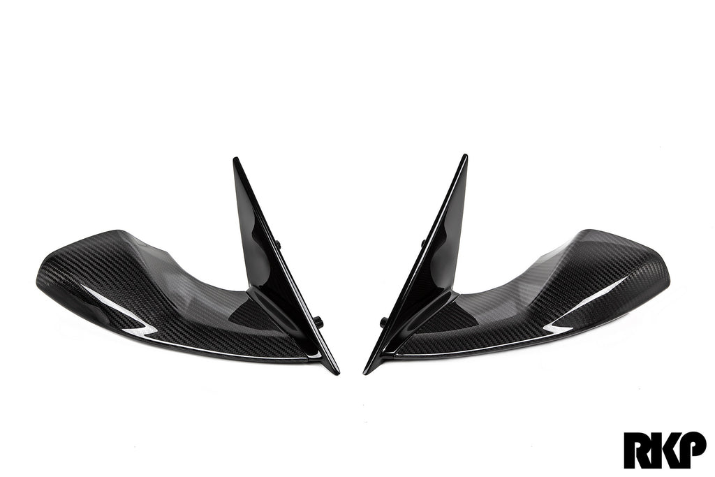 bmw motorsport e9x m3 mirror set with RKP mounting base - iND Distribution
