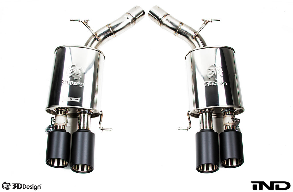 3d design f10 m5 exhaust system - iND Distribution