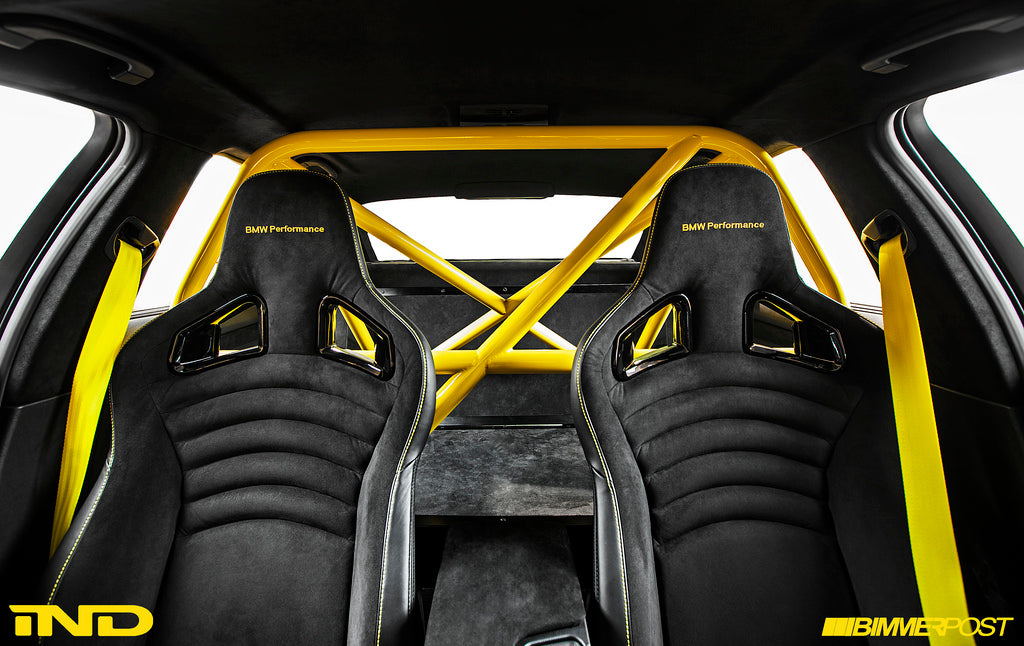 E9x M3 SportEVO Tribute Seat Belt Package 5