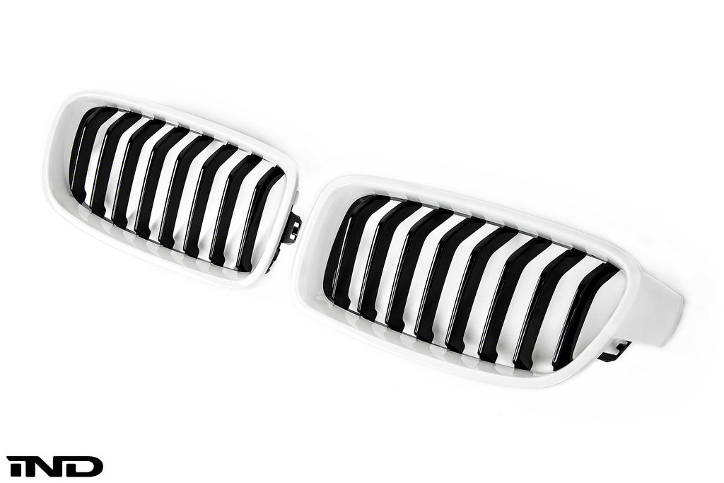 IND F30 3 Series Painted Front Grille Set 9