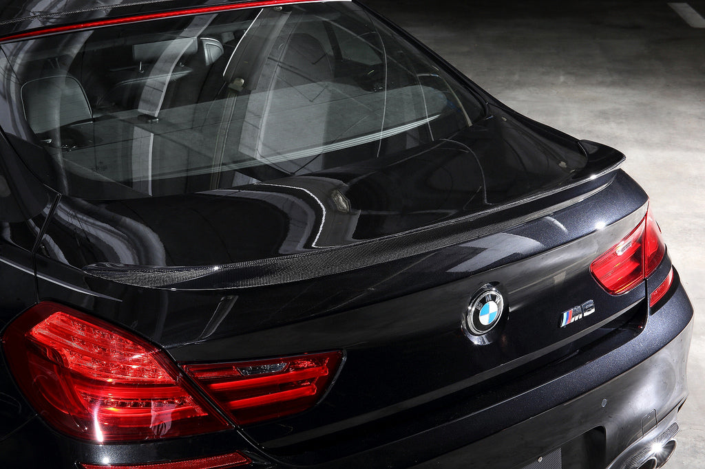 3d design f06 f13 carbon fiber trunk spoiler - iND Distribution