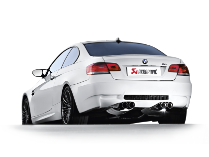 Akrapovic e92 e93 m3 slip on exhaust system - iND Distribution