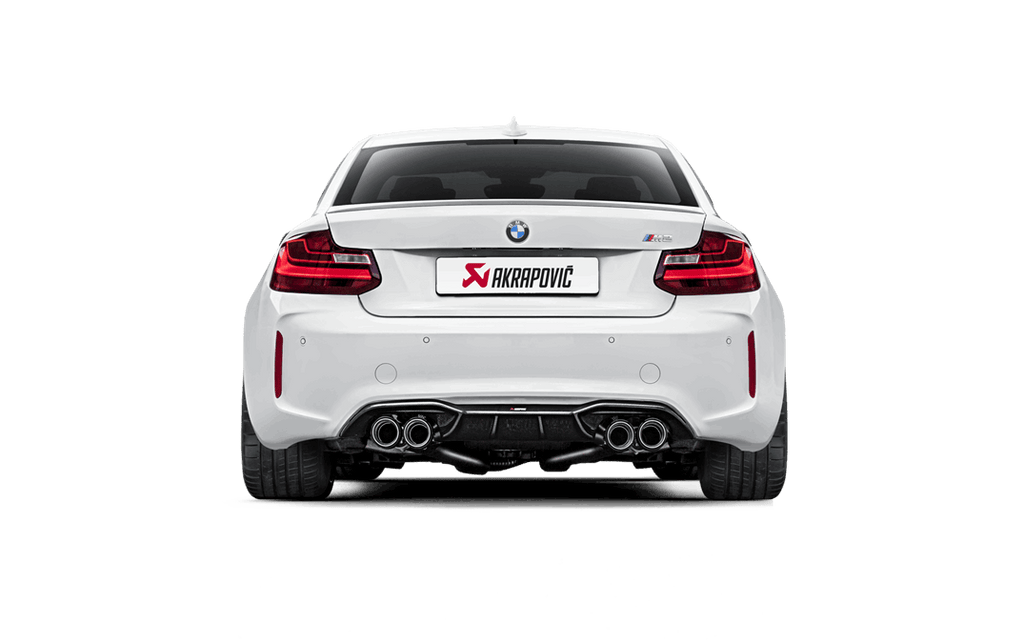 Akrapovic f87 m2 matte carbon fiber rear diffuser - iND Distribution