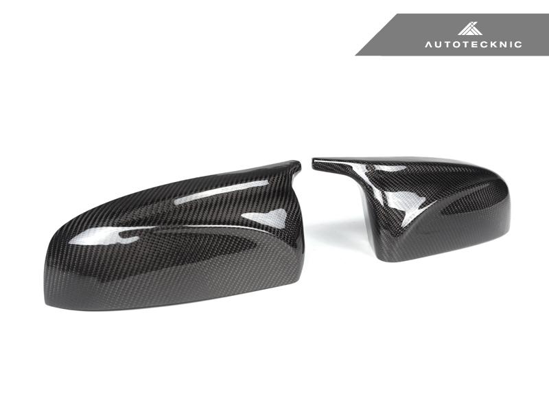 AutoTecknic E70 X5  E71 X6 M-Inspired Carbon Mirror Cover Set - iND Distribution