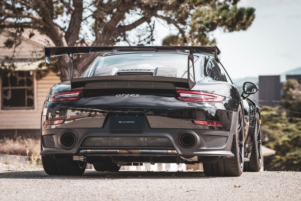 bbi 991 gt2 rs 3d printed titanium exhaust system exhaust ind distribution