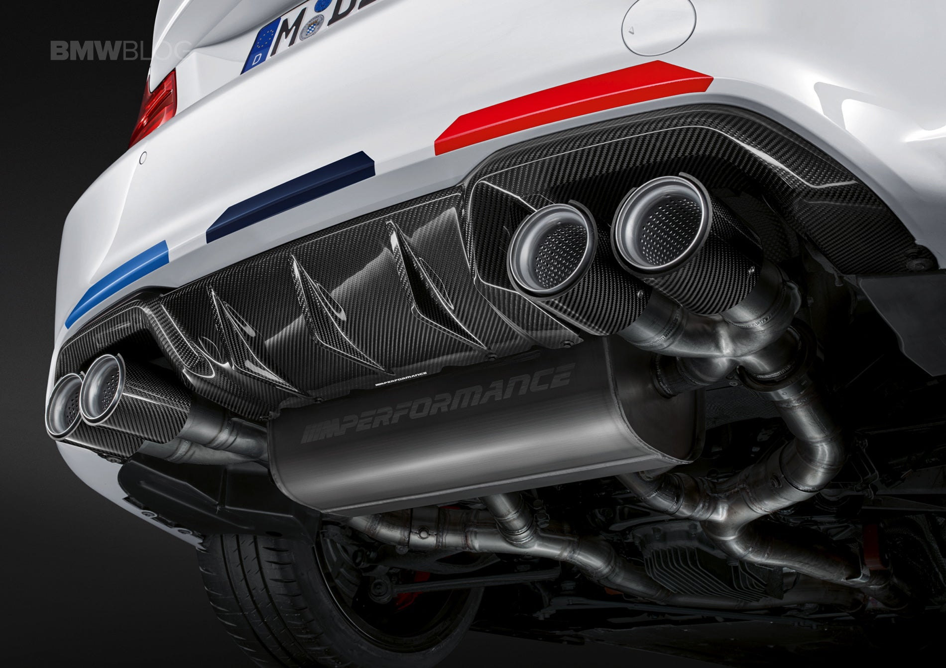 Bmw M Performance F87 M2 Competition Exhaust System Exhaust Ind Distribution
