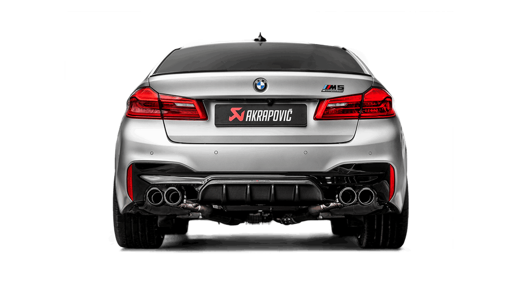Akrapovic f90 m5 gloss carbon rear diffuser - iND Distribution