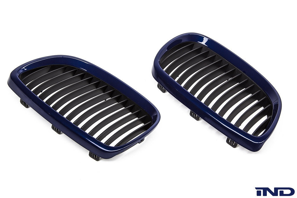 IND E9X M3 Painted Front Grille Set