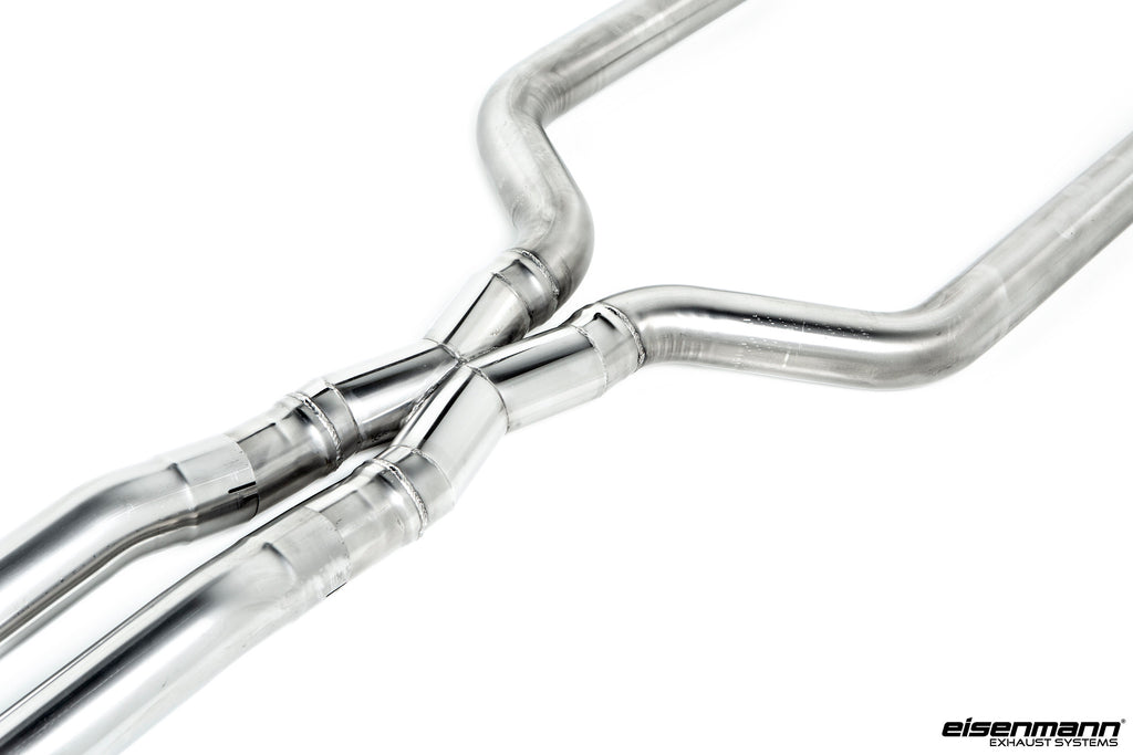 Eisenmann f90 m5 performance non resonated center pipes - iND Distribution