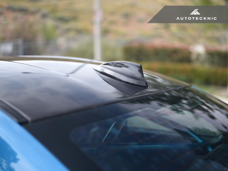 AutoTecknic f chassis dry carbon roof antenna cover 1 - iND Distribution