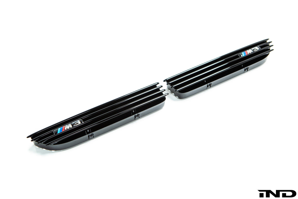 iND e46 m3 black chrome side grille set - iND Distribution