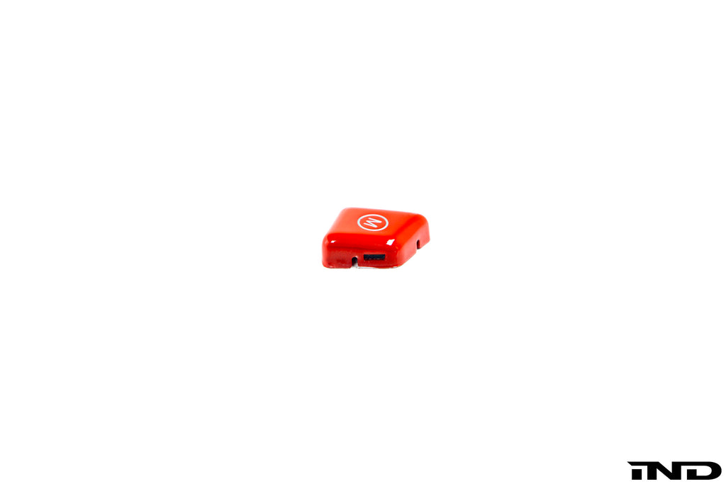 iND e6x m5 m6 red m steering wheel button - iND Distribution