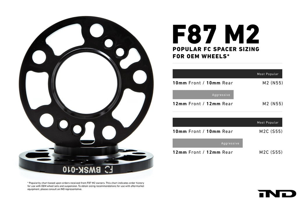 MSS f87 m2 height adjustable spring kit - iND Distribution
