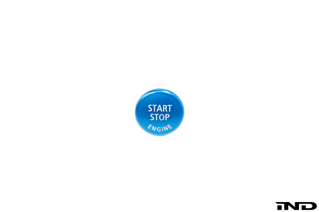 iND e9x 3 series polar blue start stop button - iND Distribution