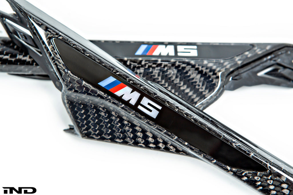 BMW f90 m5 m Performance carbon side grille set - iND Distribution