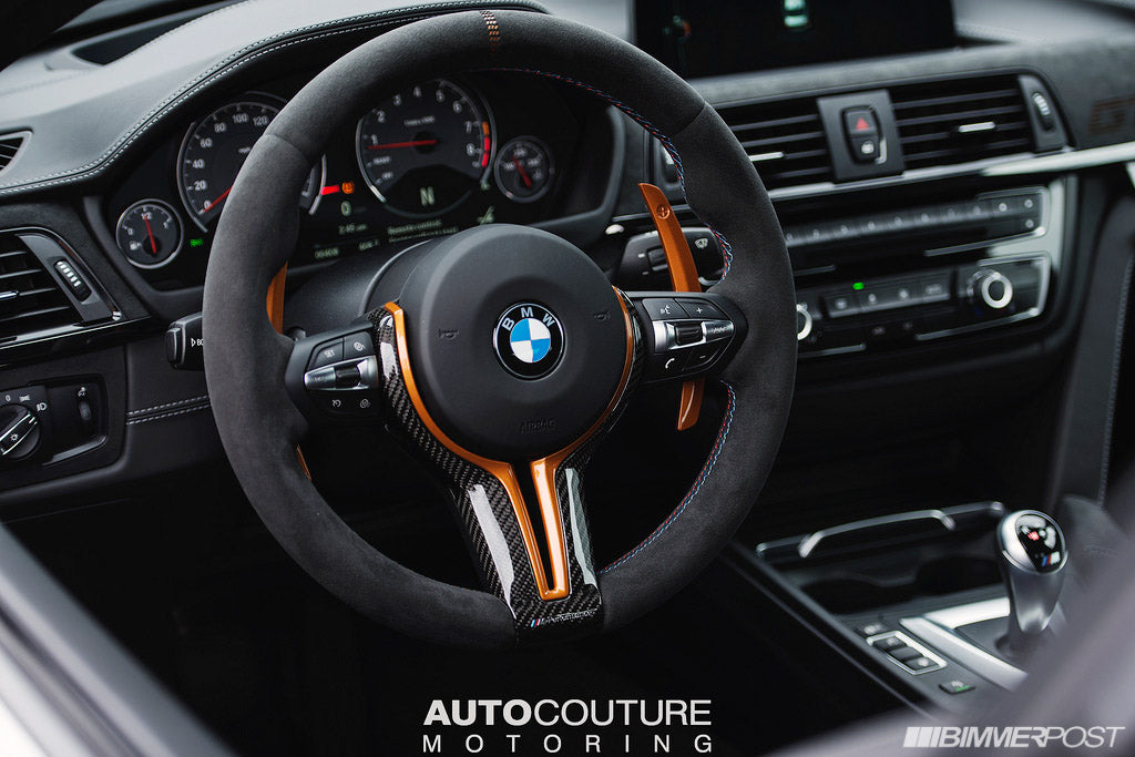 AutoTecknic f82 m4 gts competition steering shift paddles - iND Distribution