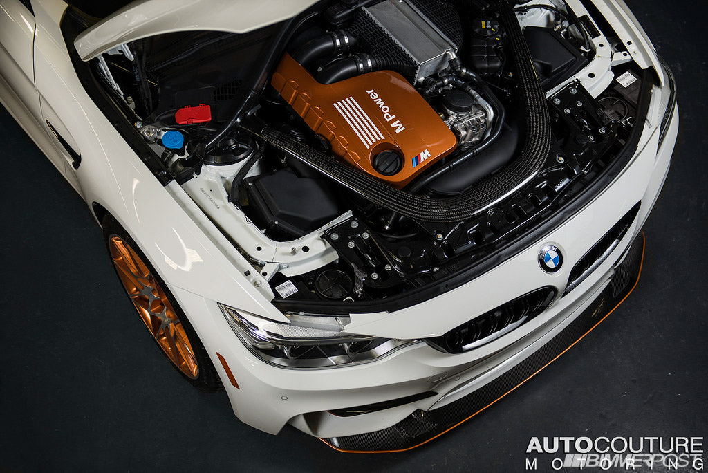 IND F82 M4 GTS Painted Engine Cover 4
