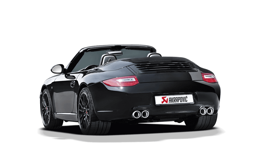 Akrapovic 911 carrera cab s 4 4s gts slip on race exhaust system 997 - iND Distribution