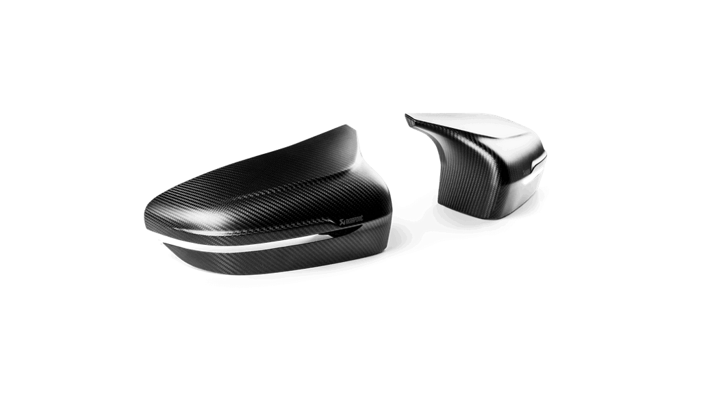 Akrapovic f90 m5 matte carbon mirror cap set - iND Distribution
