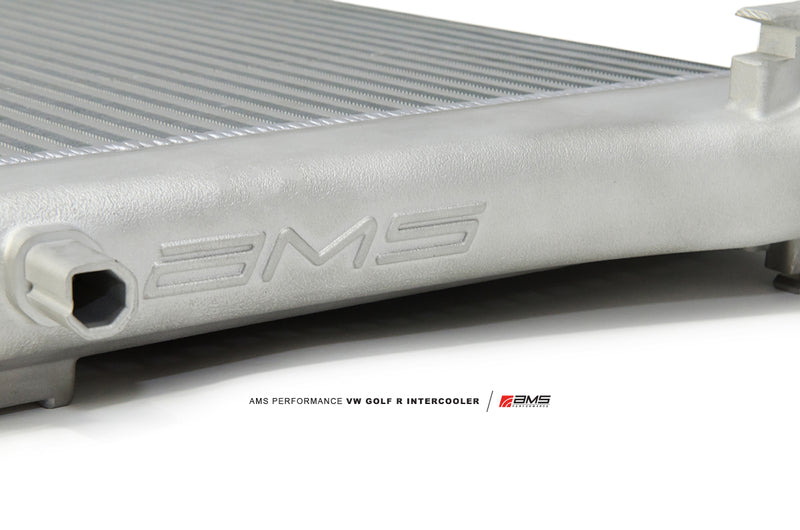 AMS 2015 vw golf r front mount intercooler - iND Distribution