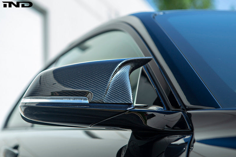 AutoTecknic m inspired dry carbon mirror cover set - iND Distribution