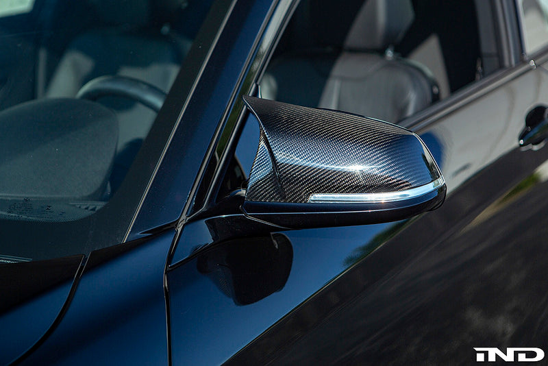Autotecknic M Inspired DRY Carbon Mirror Cover Set 4