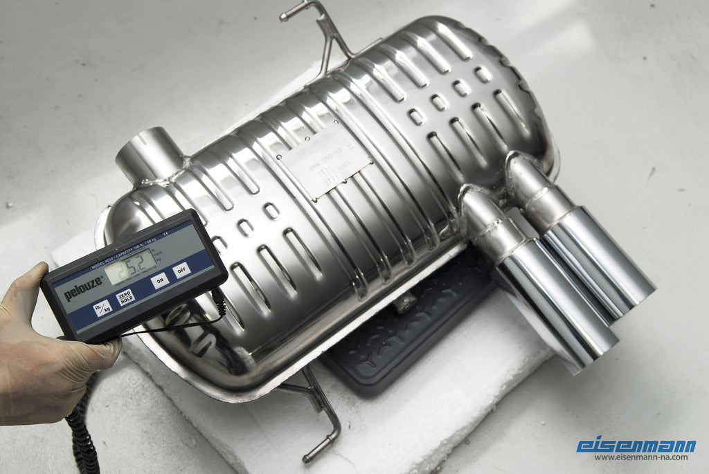 Eisenmann e92 e93 330 performance exhaust - iND Distribution