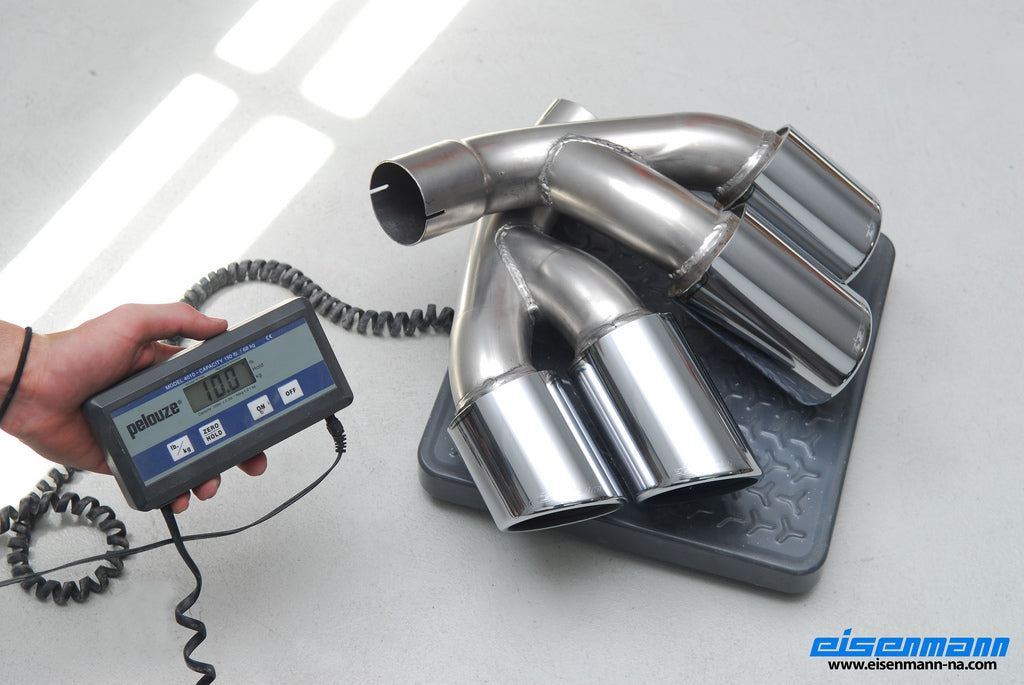 Eisenmann E71 X6 35d Performance Exhaust 3