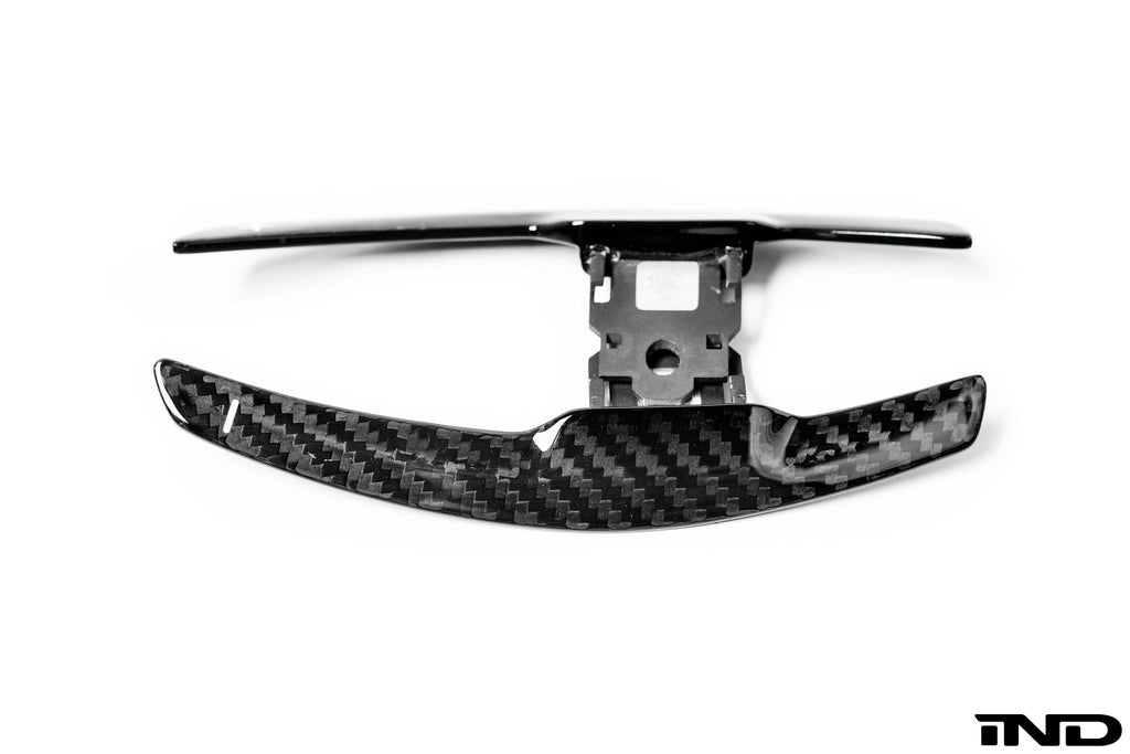 AutoTecknic Dry Carbon Fiber Shift Paddle Set 11
