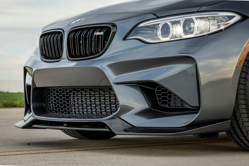 Vorsteiner bmw f87 m2 front carbon lip 2x2 - iND Distribution