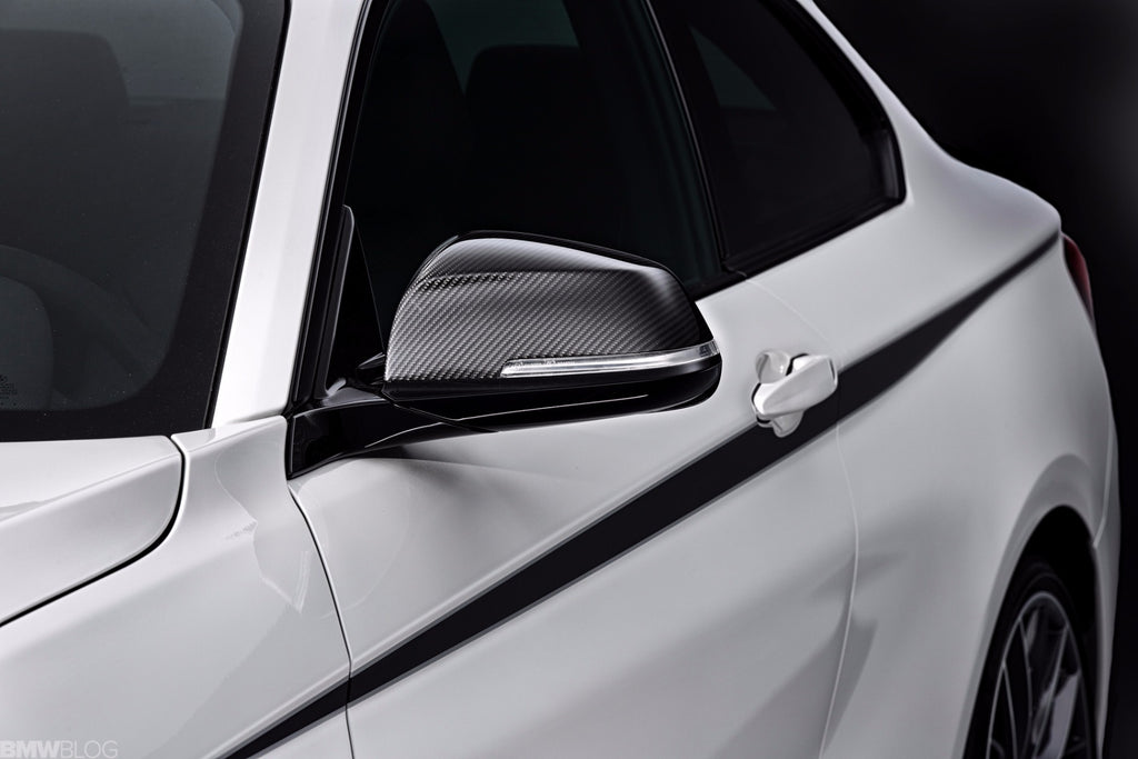 BMW M Performance Carbon Fiber Mirror Cover Set 3