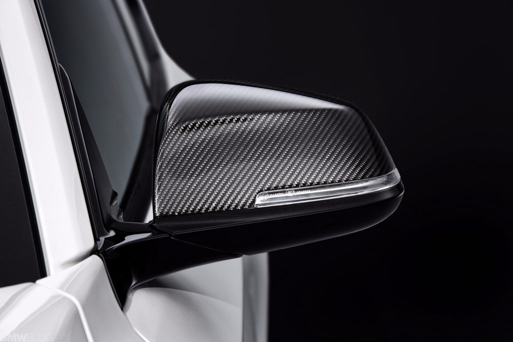 BMW M Performance Carbon Fiber Mirror Cover Set 9
