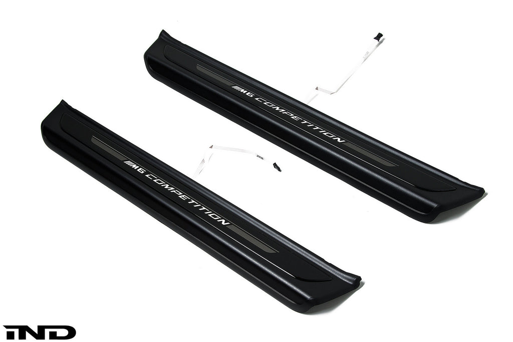BMW OEM M6 Competition Package Door Sills 1