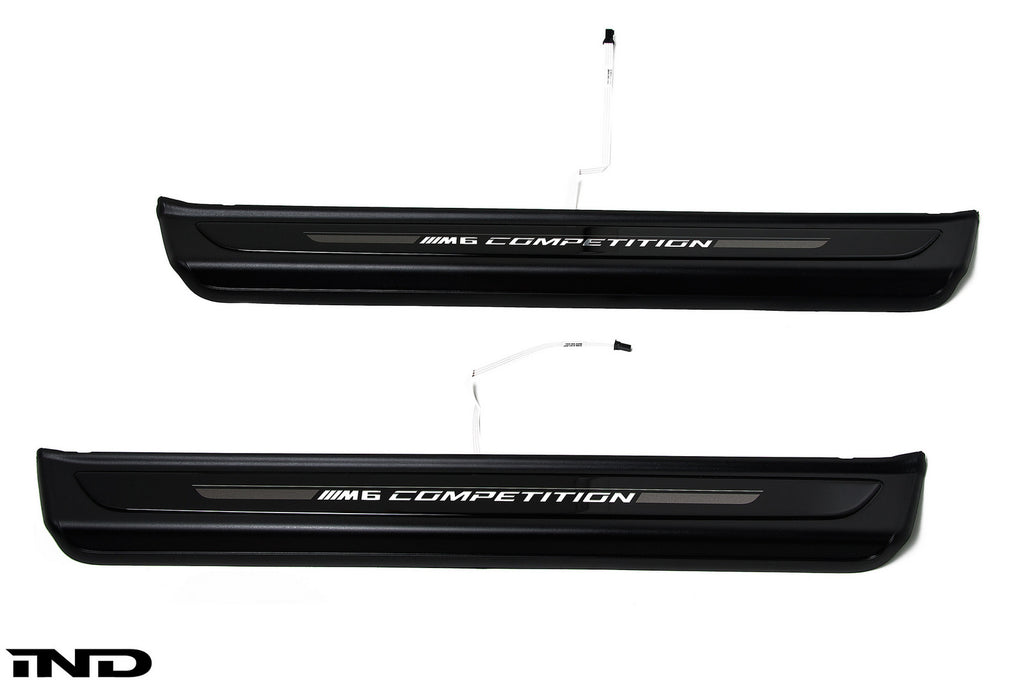 BMW OEM M6 Competition Package Door Sills 2