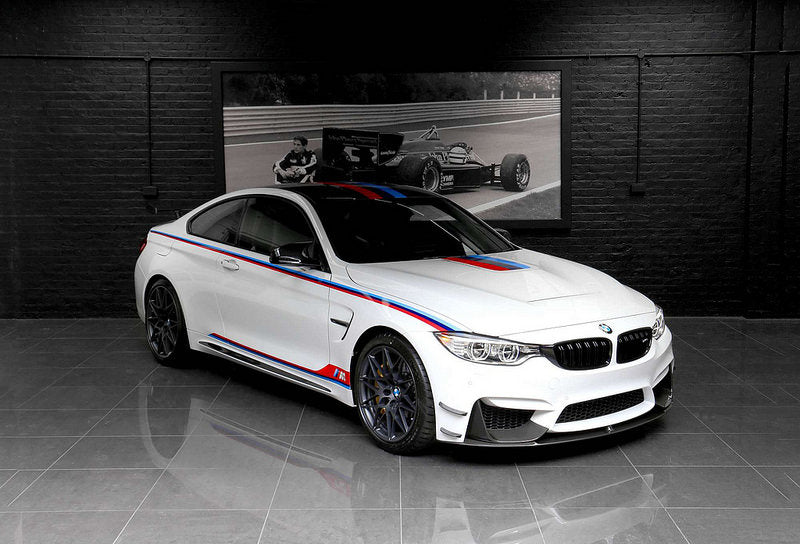 BMW M4 DTM Champion Edition Carbon Canard Set  5
