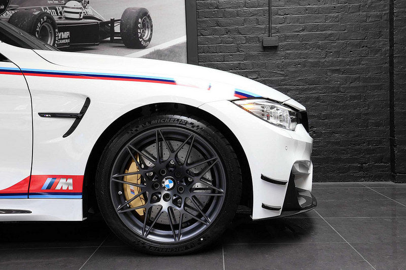 BMW M4 DTM Champion Edition Carbon Canard Set  3