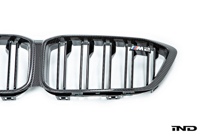 BMW m Performance f87 m2 carbon front kidney grille - iND Distribution