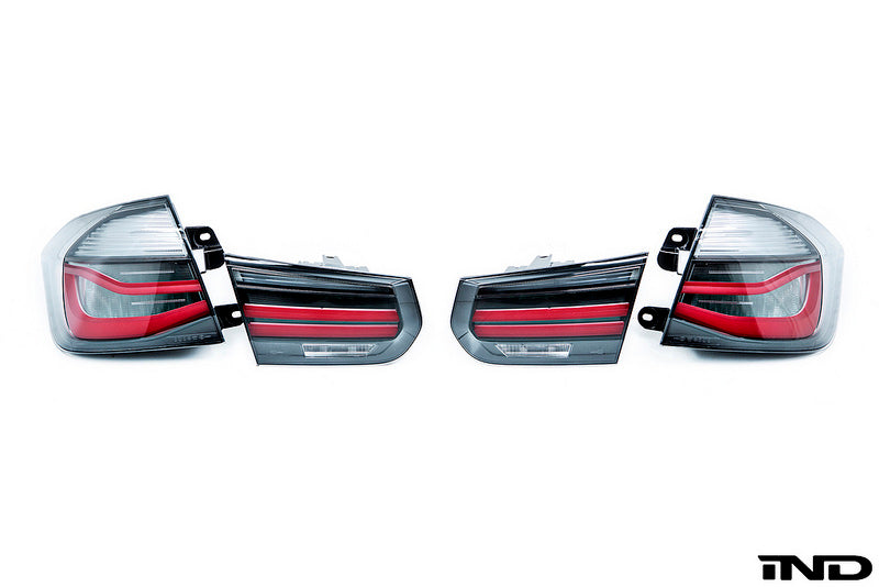 BMW F80 M3 M Performance Blackline Euro Tail Light Set 8