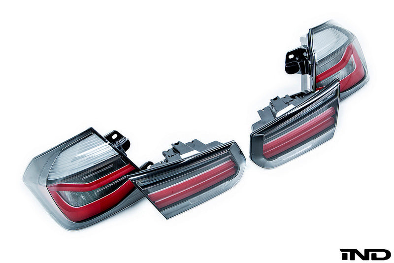 BMW F80 M3 M Performance Blackline Euro Tail Light Set 5