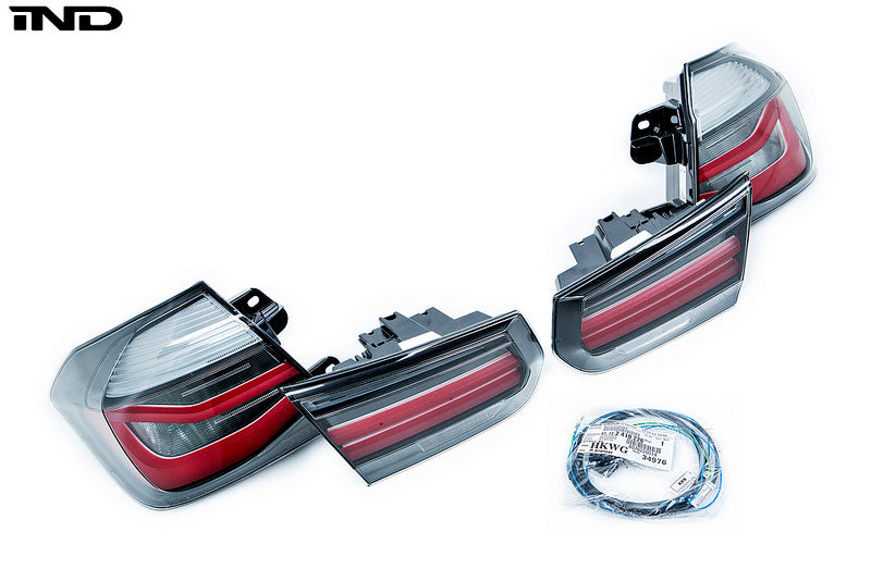 BMW F80 M3 M Performance Blackline Euro Tail Light Set 2