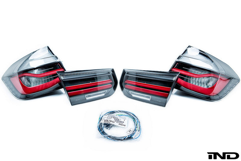 BMW F80 M3 M Performance Blackline Euro Tail Light Set 1
