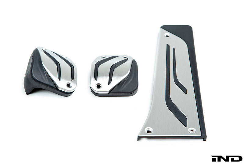 BMW m Performance stainless steel manual dct pedal set - iND Distribution