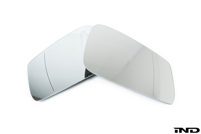 BMW OEM aspherical euro mirror glass set - iND Distribution