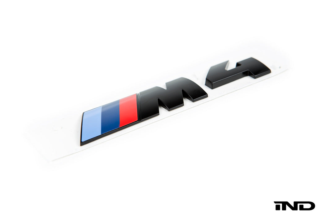 BMW OEM F82 M4 Gloss Black Competition Package Trunk Emblem 8