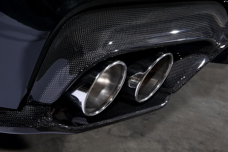 3D Design F06 / F12 / F13 M6 Carbon Fiber Rear Under Splitters 3