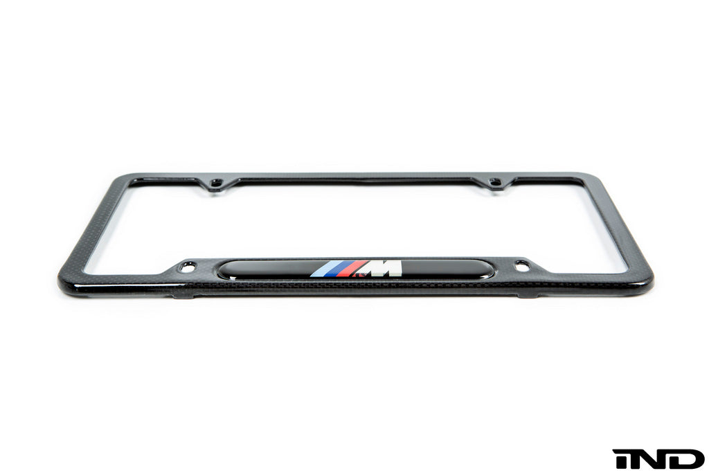 BMW ///M Carbon Fiber License Plate Frame 2
