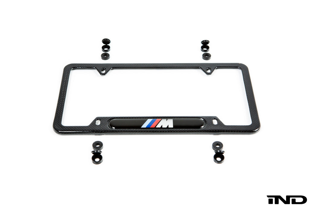 BMW ///M Carbon Fiber License Plate Frame 3
